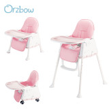 pink 3 in 1 high chair