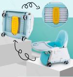 Three-in-one high chair bracket storage