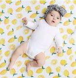Lemon Breathable Wrap Swaddle Newborn Bedding