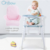 3 in 1 high chair leather cushion