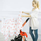 Baby car cover blanket