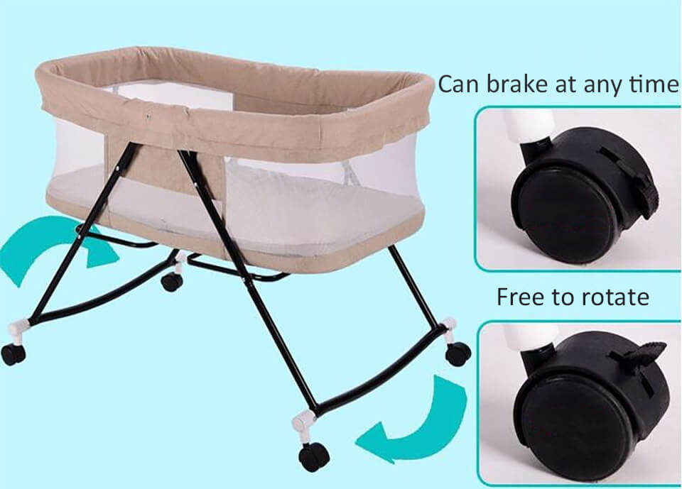 Foldable Baby Bed can break at any time
