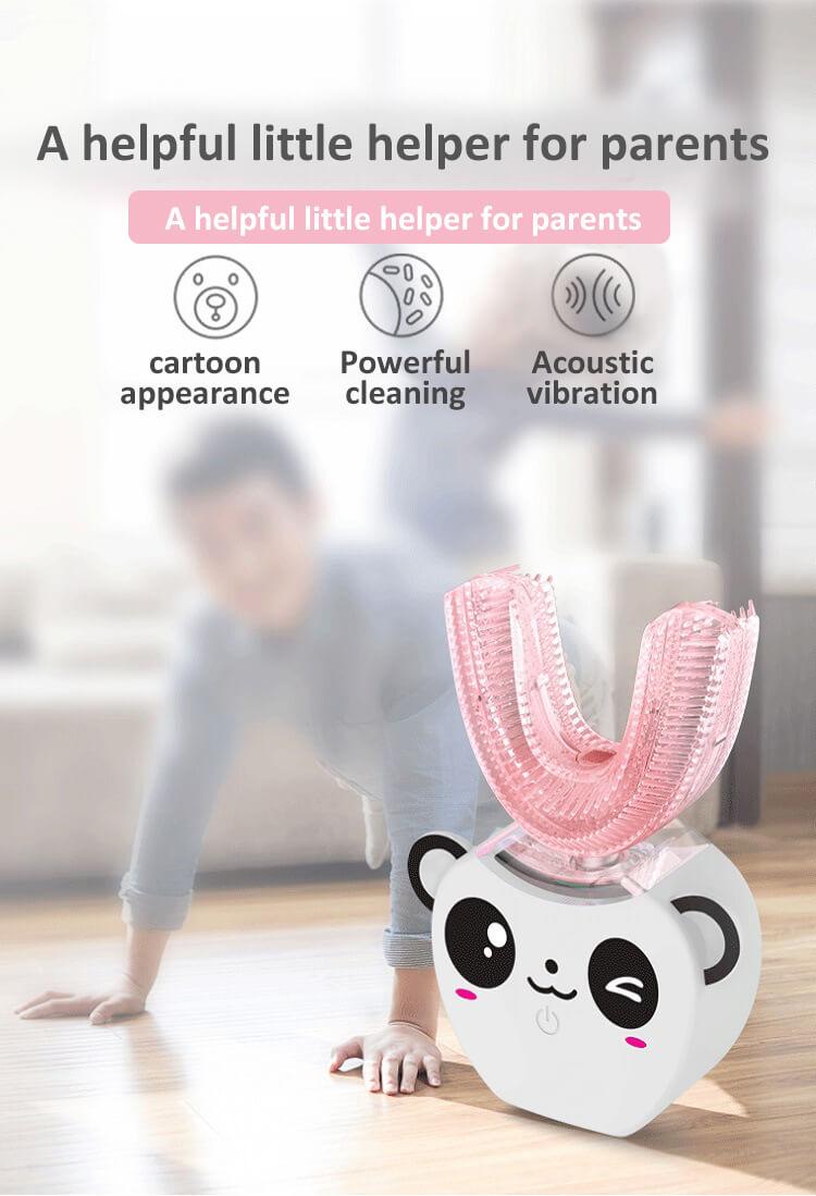 U Type Children Intelligent Electric Toothbrush