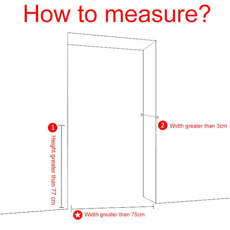measure doors and baby gates