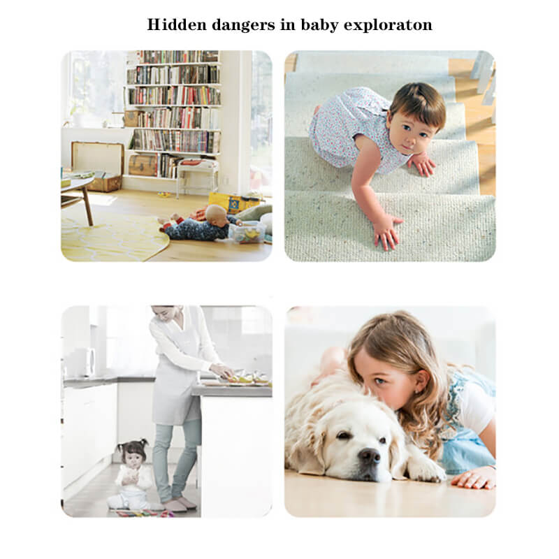 Hidden dangers in baby exploration