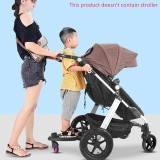 baby trolley auxiliary pedal