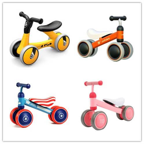 four kinds of Balance bikes