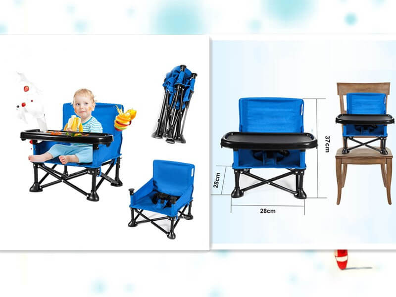 Outdoor travel picnic baby feeding booster chair