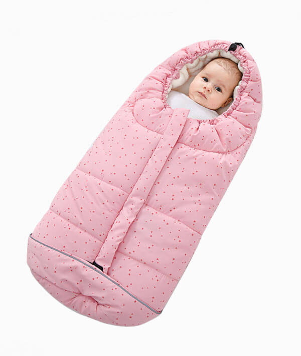 Orzbow star sleeping bag in winter