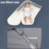 Warm baby sleeping bag & stroller footmuff