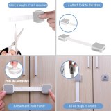 Adjustable Child Protection Lock Baby Safety Cabinet Drawer Door Lock Multi-functional Refrigerator Security Children Lock