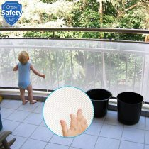 Baby Safety Stair Rail Net Children Protection Fence Net For Toddler Security Baby Proofing Stair Balcony Banister Railing Guard