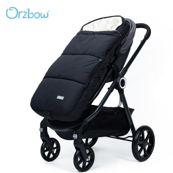 Orzbow Newborn Envelope For Winter Baby Stroller Sleeping Bags Infant Stroller Footmuff Bunting Bags For Children Kids Cocoon