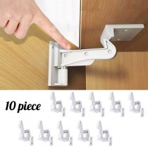 10Pcs  Kids Safety Door Lock