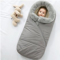 Warm baby sleeping bag & stroller footmuff
