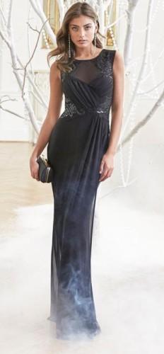 Black Sexy & Club Sleeveless Straight Long Maxi Dresses