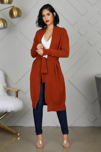 As Show cardigan Solid asymmetrical Patchwork Polyester Pure Long Sleeve cloak FN231280