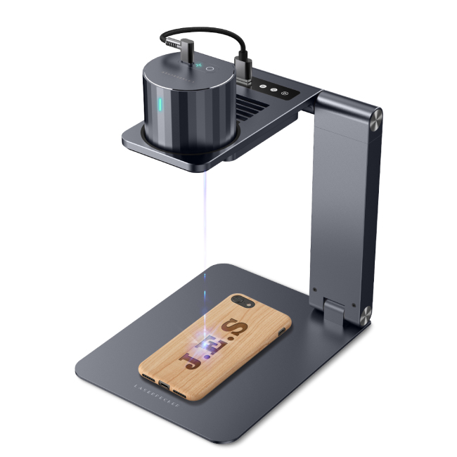 L1 Pro Suit: The Most Compact & Safe & Easy to Use Laser Engraver with auto-stand