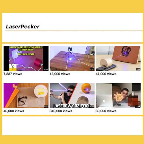 kickstarter laser engraver review