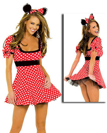 Hot sale Sexy Mickey Mouse Costume