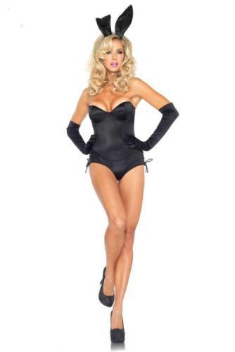 Black Sexy Bunny Costume  Animals Costumes