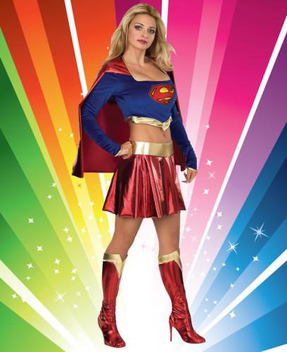Costumes  Sexy Super Girl Costume