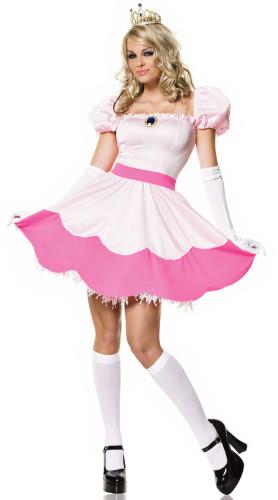 Pink Princess Belle Costume women dresses