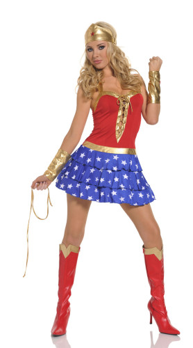 New style Sexy Super Girl Costume