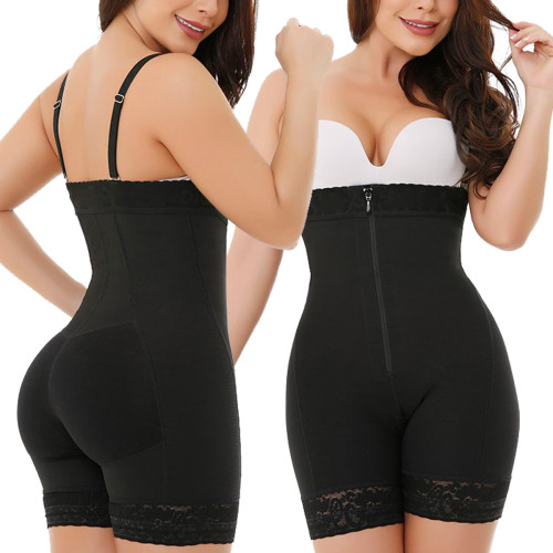 Plus Size One-Piece Open Bust Slimming Shapewear S-6XL