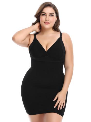Plus Size Slimming Waist Control Shaper Dress