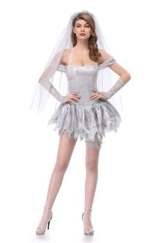 Ghost Bride Cosplay Role Play  Halloween Costume