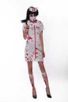 Scary Bloody Nurse Halloween Costume