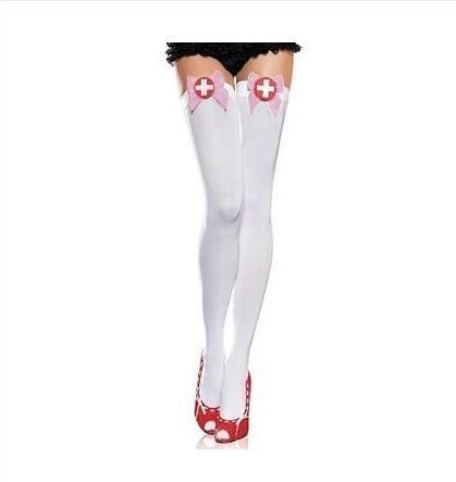 Sexy Nurse Cosplay Stocking Halloween Costume