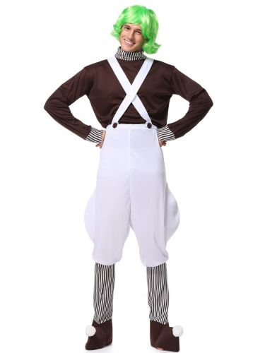 Chocolate Factory Workers Cosplay Adult Halloween Costume