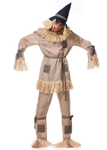 Party Role Play Scarecrow Cosplay Mens Halloween Costume