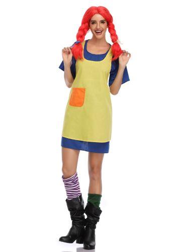 Lovely Girl Cosplay Adult Halloween Costume