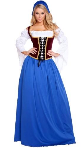 Maid Dress Oktoberfest Cosplay Adult Halloween Costume