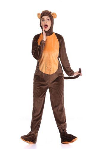 Monkey Cosplay Women's Jumpsuit Halloween Costume