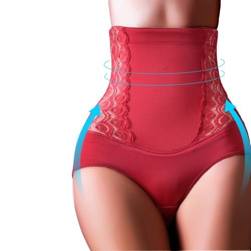 Red Tummy Control Body Shaper Panty