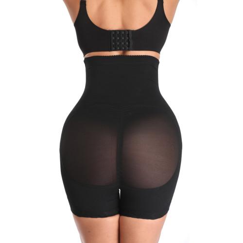Black High Waist Body Shaper Shorts