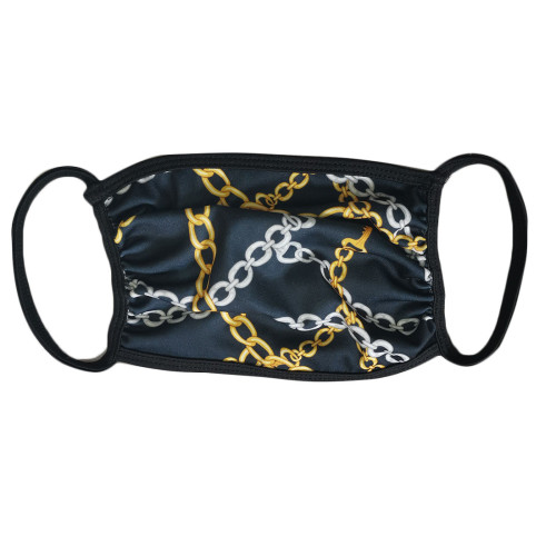 Chain Print Face Mask(non-protective)