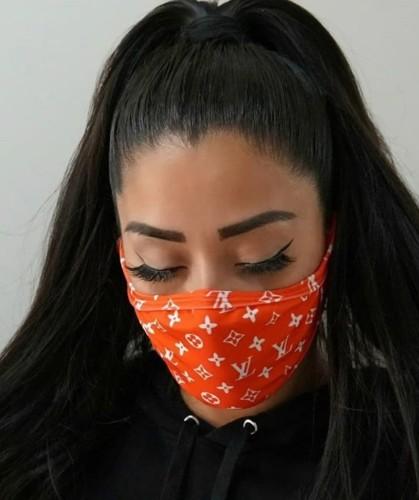 (non-protective) Fashion Print Face Mask