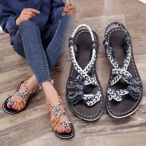 Flip Flop Braided Sandal for Women