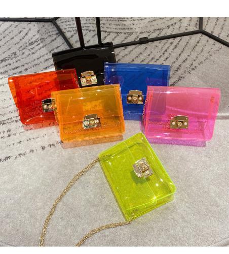 Fashion Small Metal Chain Handbag