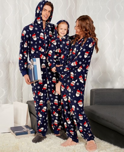 Christmas Matching Family Clothing Pajamas Jumpsuit for Daddy
