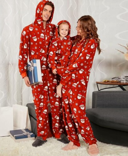 Christmas Matching Family Clothing  Pajamas Jumpsuit for Kid