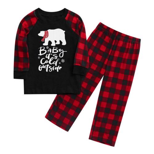 ChristmasPrintFamily Clothing PajamasforKids