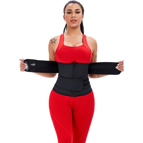 Black Big Size Latex Waist Slimmer Body Shapewear XS-6XL