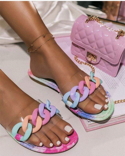 Fashion Colorful Slipper