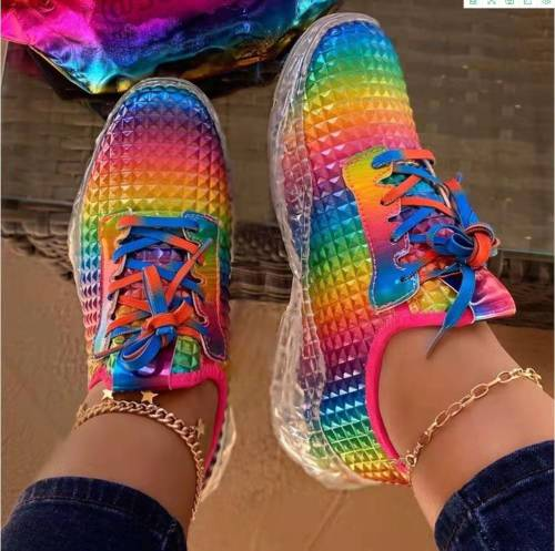 Fashion Colorful Casual Snakers for Women
